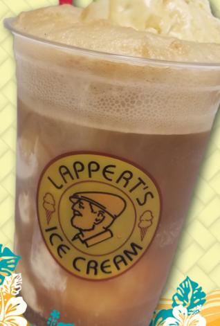 Refreshing Coffee Ice Cream Shake in Palm Springs