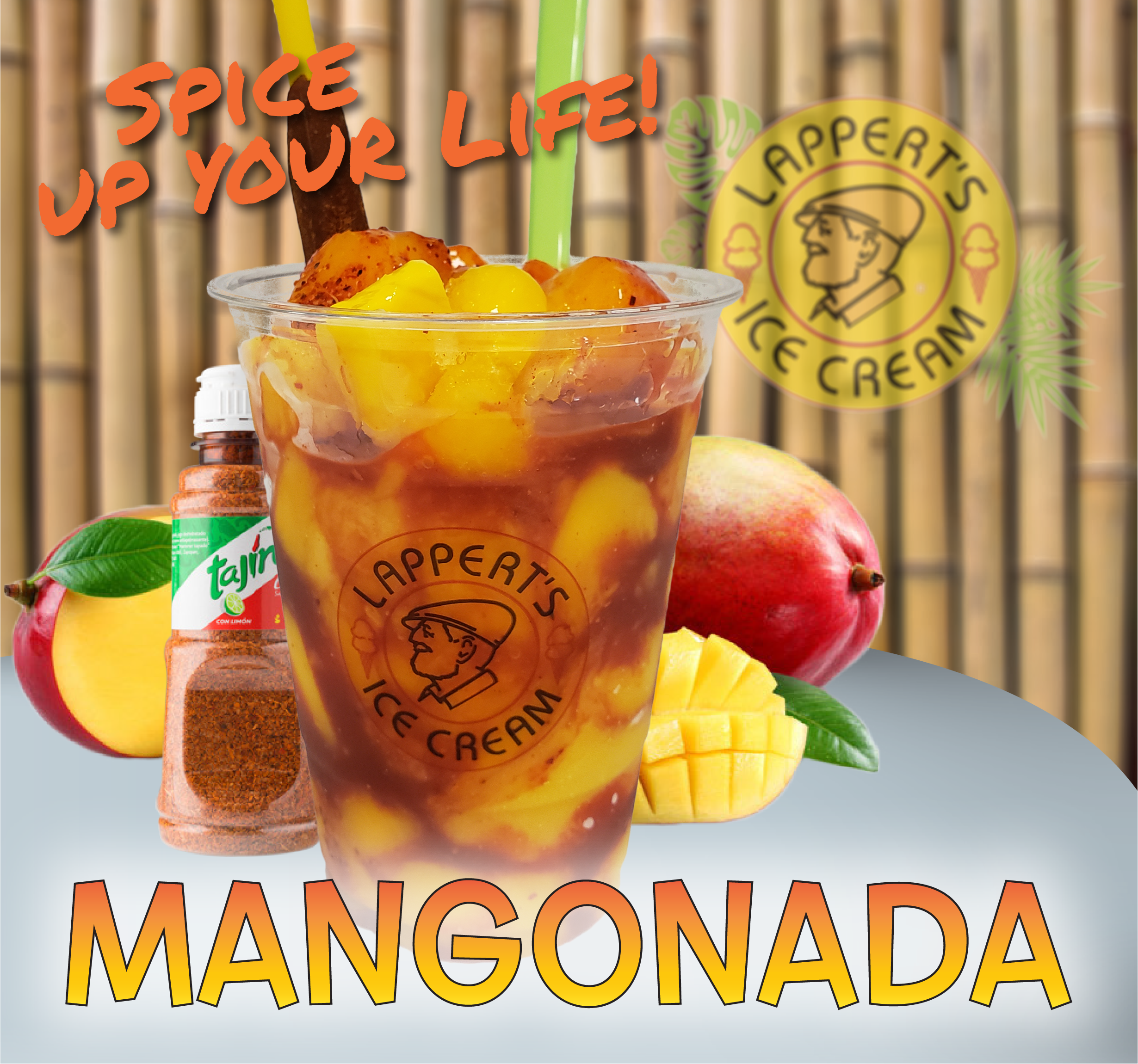 Your New Favorite Desert Will be the Lappert's Mangonada!!